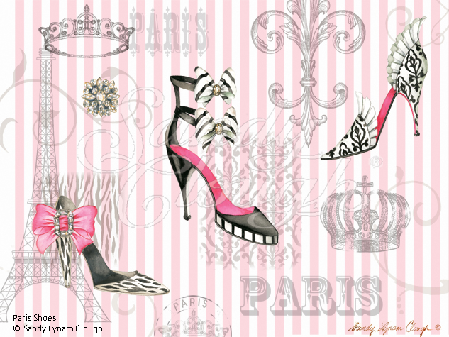 Paris Shoes-Pink