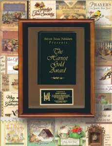 harvest house million books award