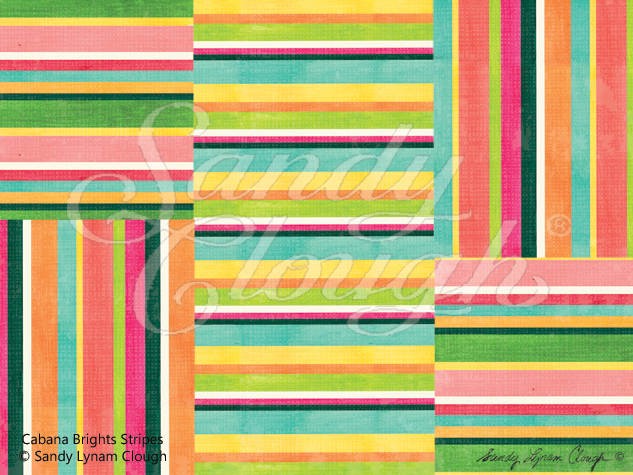 Cabana Brights Stripes