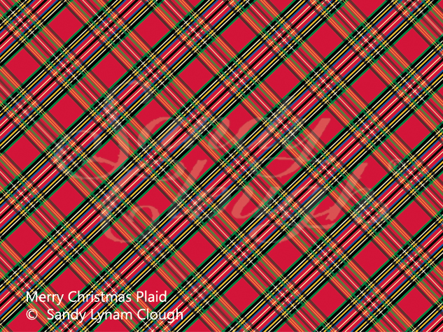 Merry Christmas Plaid