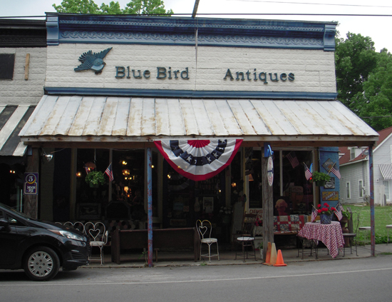 Blue Bird Antiques and Cafe