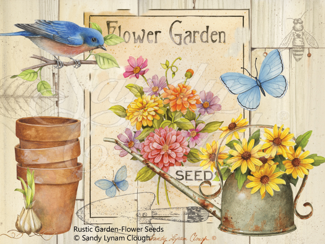 Rustic Garden-Flower Seeds