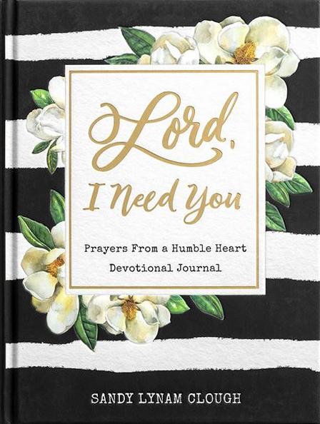 Lord I Need You prayer journal